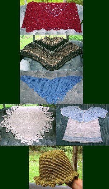 My crocheted projects